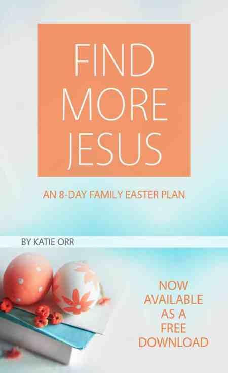 Grab this FREE Gospel-centered Easter Plan!