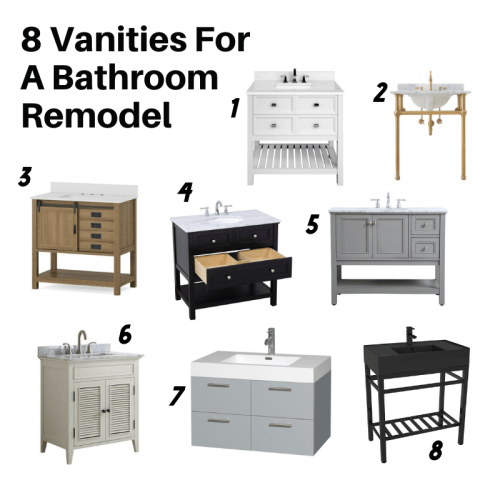 Updating A Bathroom With A New Vanity