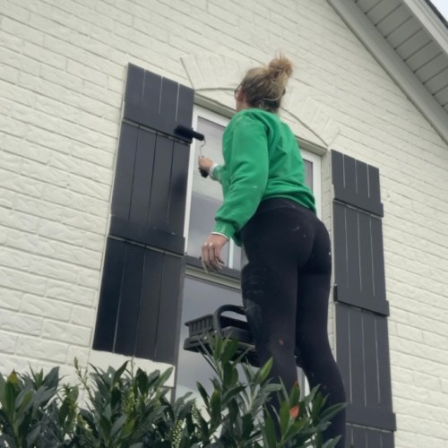 How To Paint Your Exterior YOURSELF!