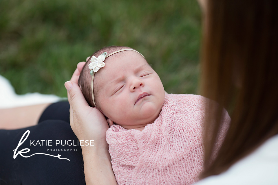 Newborn Baby Girl at home photography session