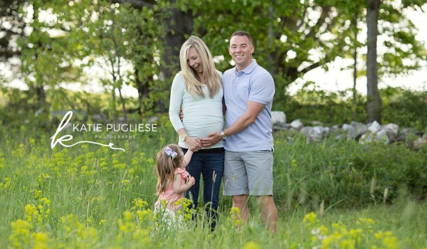 Spring Family Maternity Session: Southbury, CT Photographer