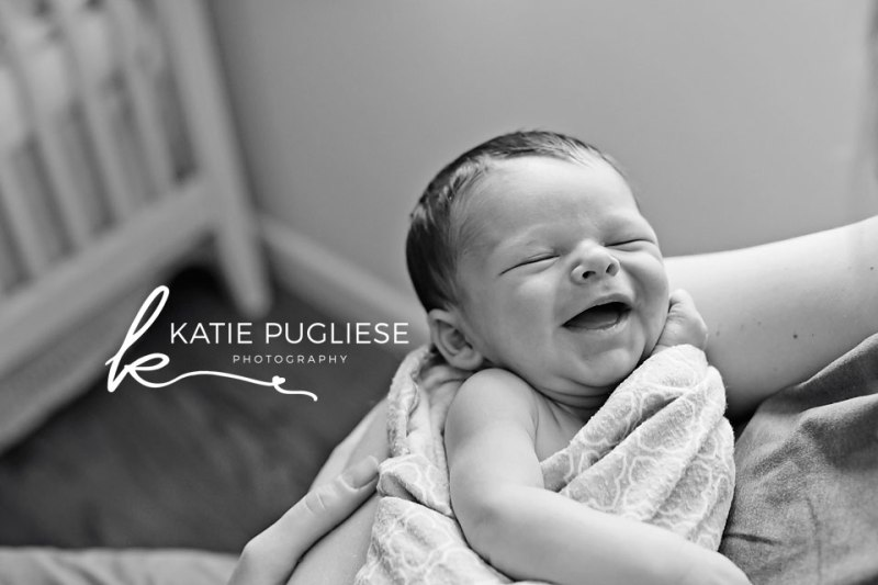 Baby Boy Newborn Session: Guilford CT In Home Photographer