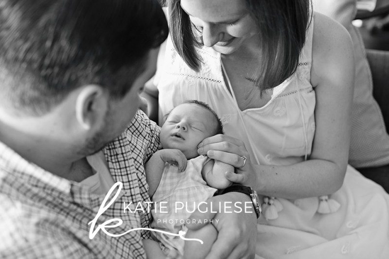 At Home Lifestyle Newborn Session: Portland, CT Photographer