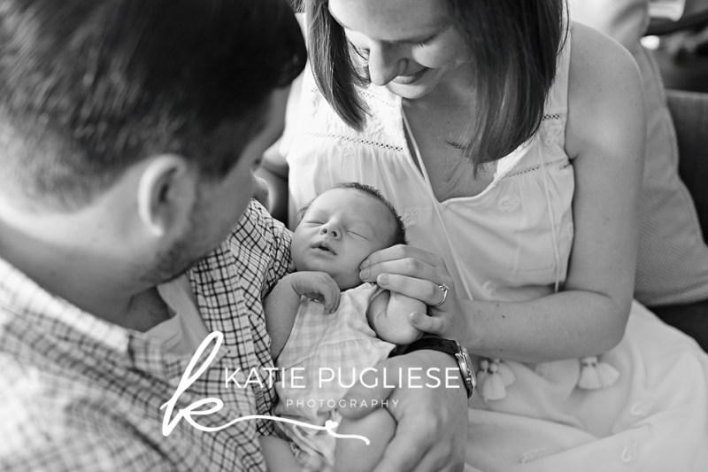 At Home Lifestyle Newborn Session: Portland, CT Photographer