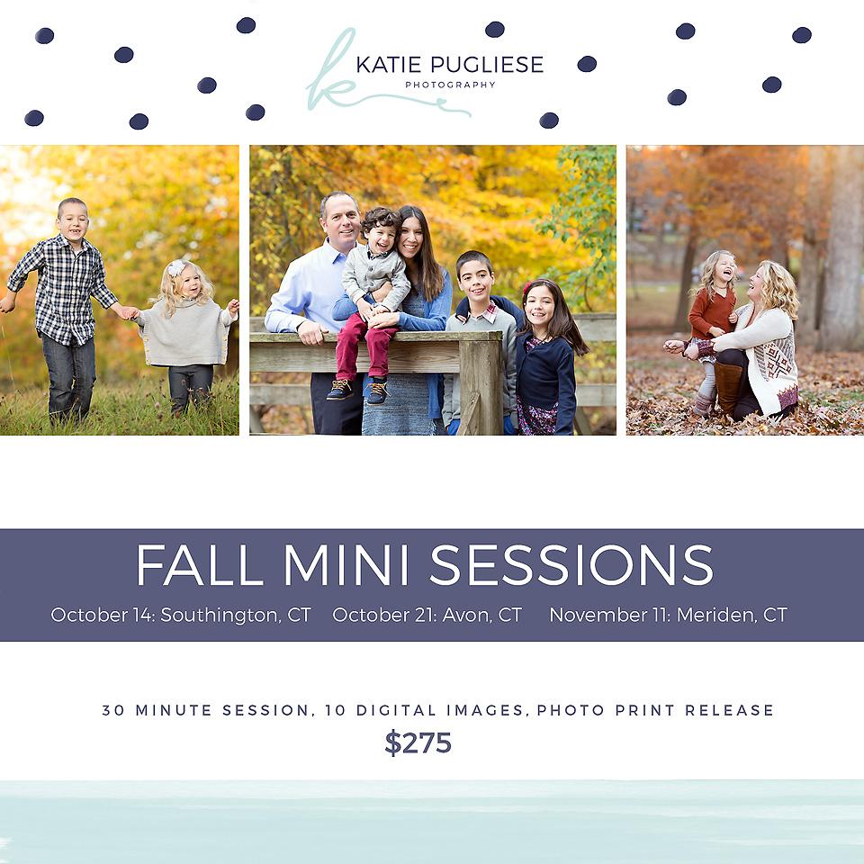 2017 Fall Mini Sessions