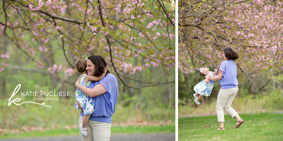 Mommy and Me spring photo shoot