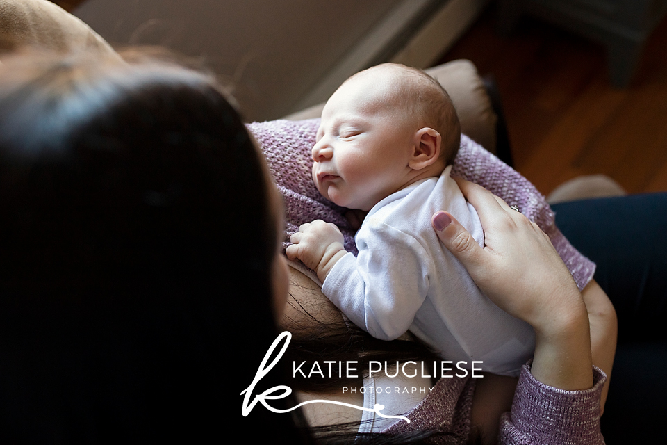 CT At Home Newborn Session