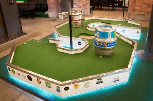 Flatstick Pub mini golf hole