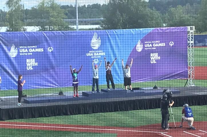 Special Olympics Awards Ceremony