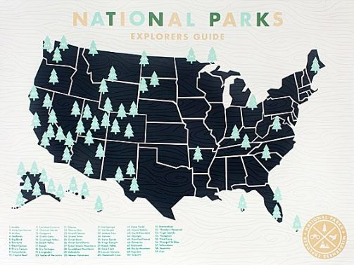 National Parks Poster Uncommon Goods