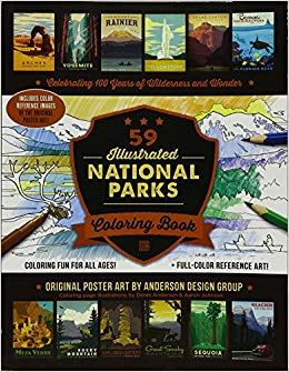 Five Faves 2-15-19 - National Park Coloring Book