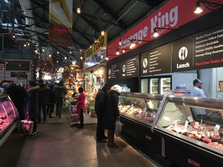 St. Lawrence Market Interior