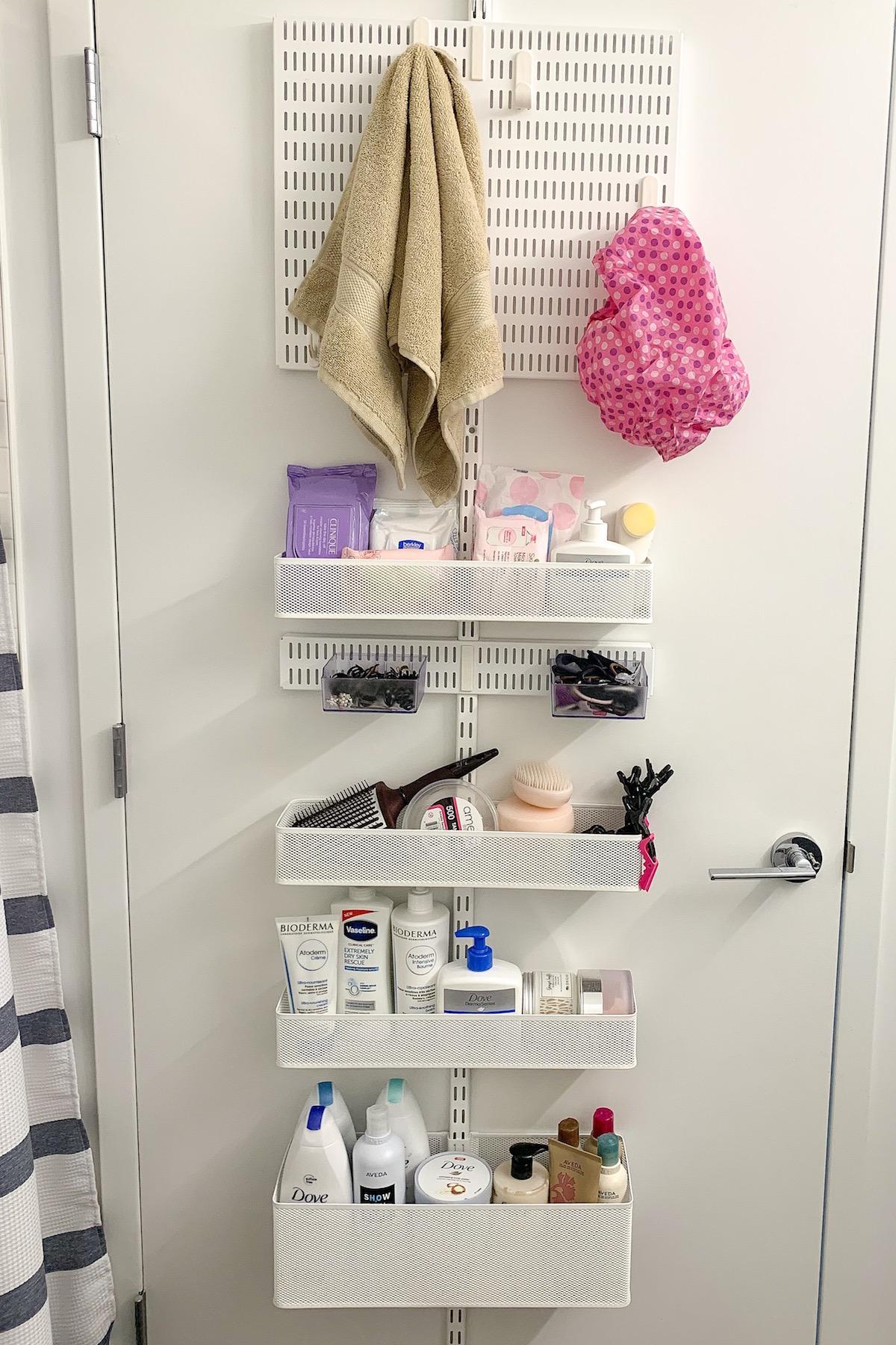 apartment update closet bathroom