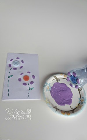 Easy Mothers Day Card Idea Using Water Bottle Katies