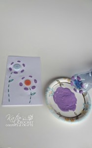 Easy Mother's Day Card Idea using Water Bottle