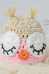 Free Owl Hat Crochet Pattern – Sleeping & Awake