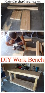 DIY Work Bench Tutorial