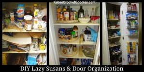 Pantry Organization – Door Shelves & Lazy Susans