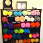 Yarn Storage…makes my heart sing!