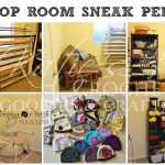 Photography Prop Organization & Yarn Room Reveal