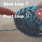 Crochet Back Loop & Front Loop Video