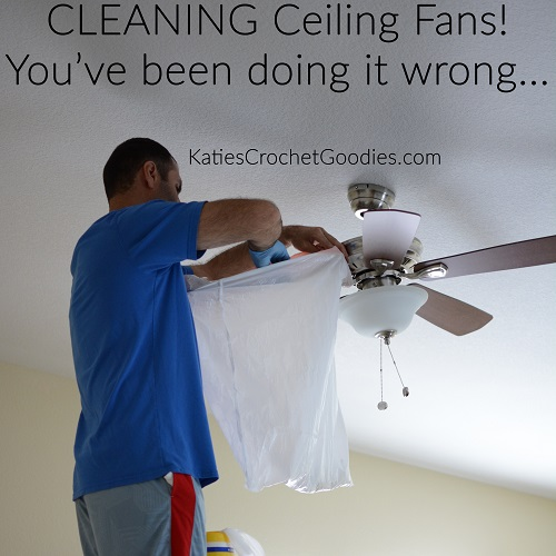 Cleaning ceiling fans katies crochet goodies cleaning ceiling fans mozeypictures Images