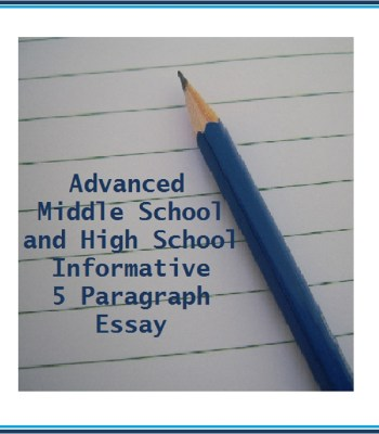 paragraph essay archives katie s homeschool cottage writing the informative 5 paragraph essay