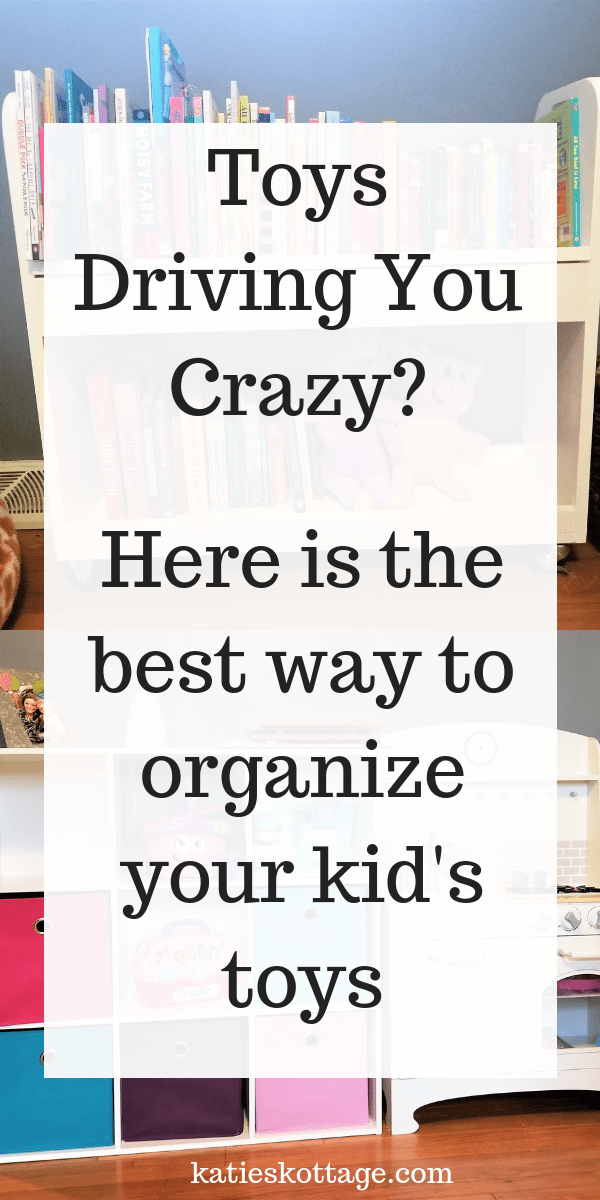 Ideas for kids toys organization in a small spaces or in their bedroom. The best idea is to declutter you kids toys before you organize the toys. I tell you how! #organization #toys #declutter #kids #cleaningtips
