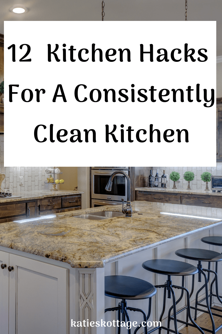 Kitchen cleaning hacks and tips. Keep your kitchen clean and clutter free with these tips for your stove, mocrowave, decluttering and more. #cleaningtips #cleaninghacks #cleaninghacksandtips #organization #declutter #kitchen #kitchencleanng #cleaningideas #cleaning