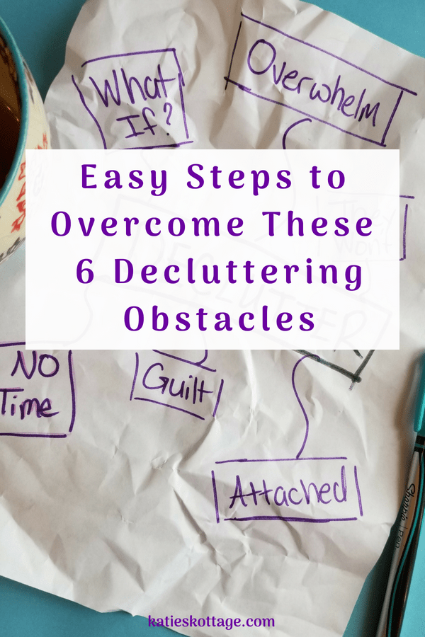 why decluttering is so hard and what to do about it #declutter