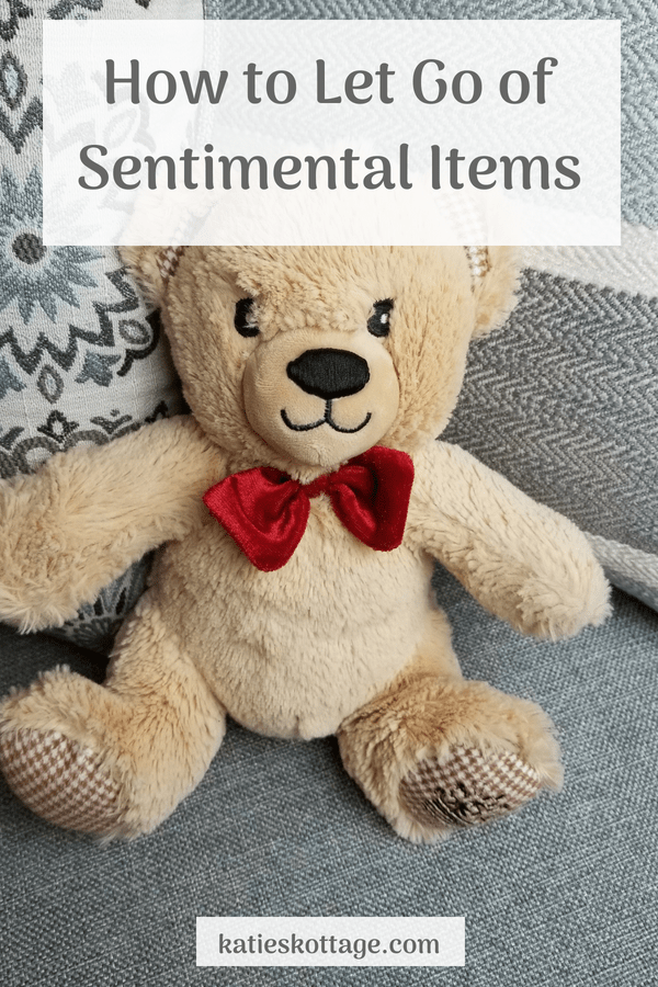 how to declutter sentimental items and other obstacles when decluttering is so hard #declutter