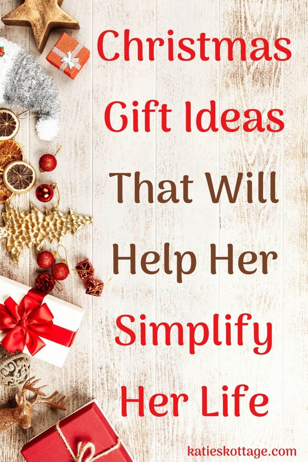 minimalist christmas gifts for her