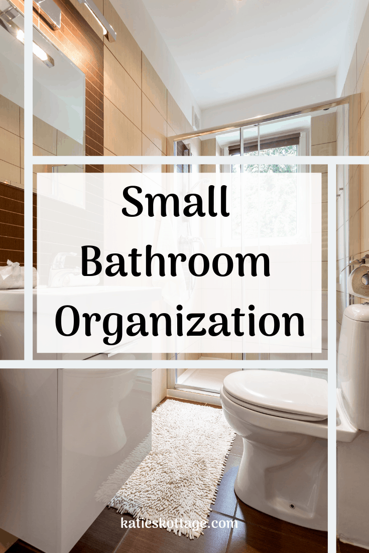Small bathroom organization ideas. Tips for under the sink, toiletries, counter tops, shelves and more. #organization #shelves #bathrooms #