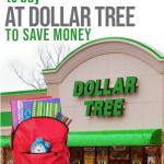 school supplies at dollar tree
