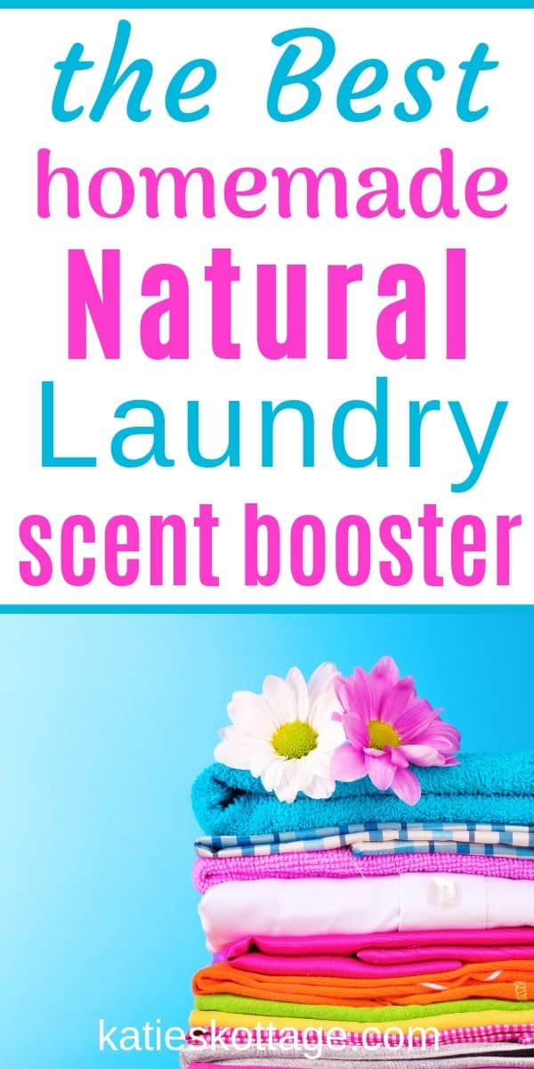 homemader laundry scent booster