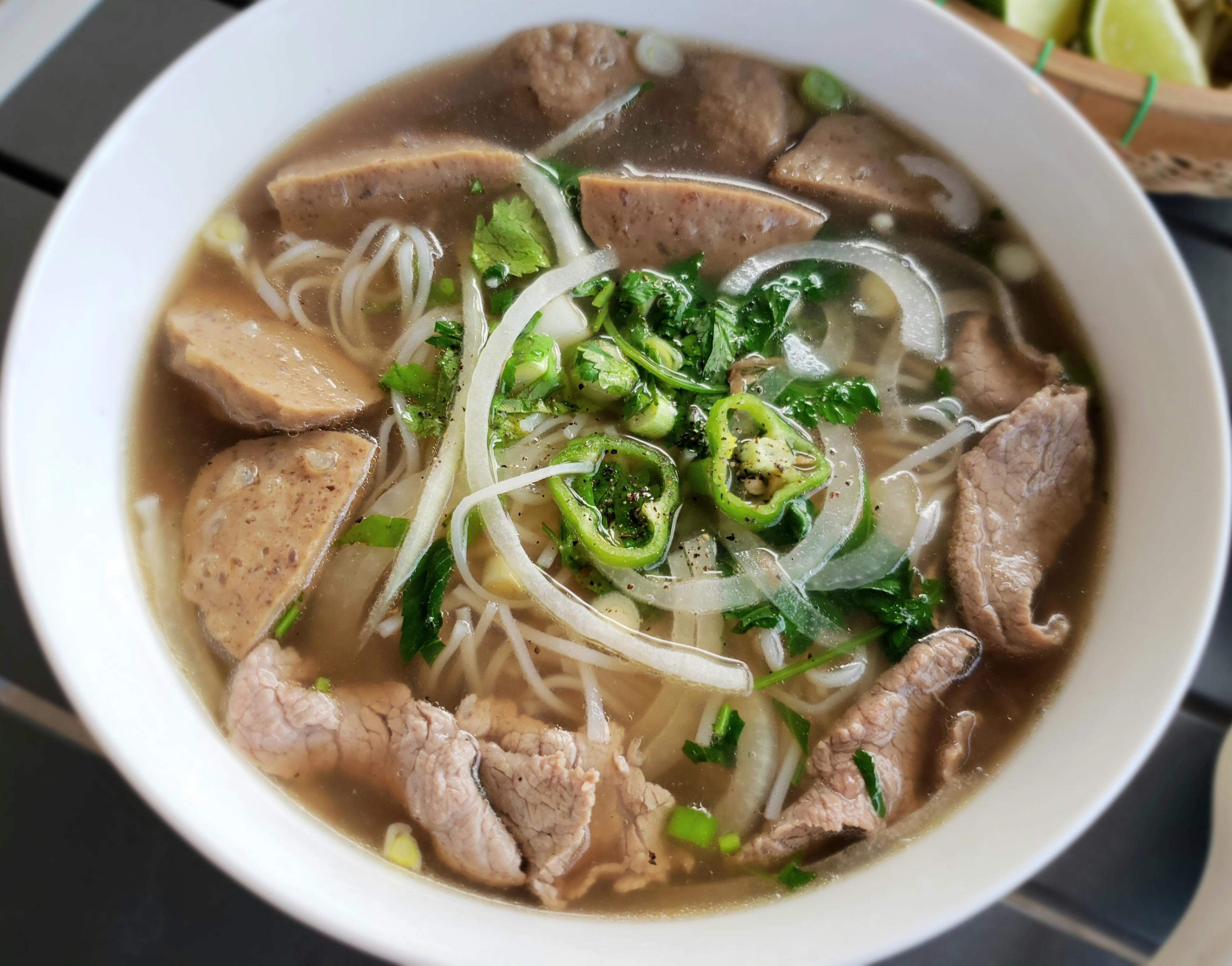 Katie S Test Kitchen Phở Bo Instant Pot Vietnamese Beef Noodle Soup