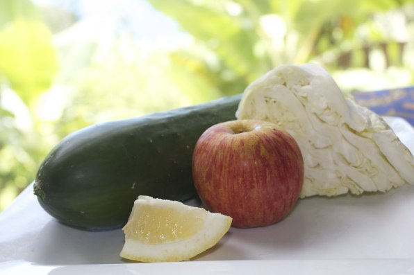 cucumber cabbage juice recipe ingredients