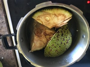 jackfruit in a pressure cooker