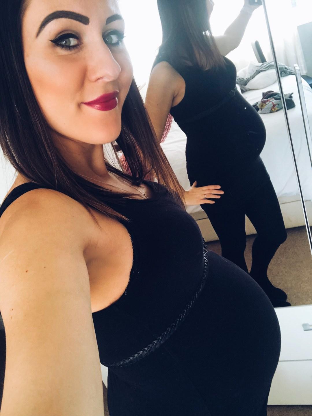 Katie B - Pregnancy Pic - 28 Weeks