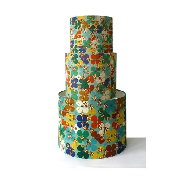 blue bee flower tower