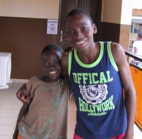These 2 Ortho boys were so sweet and well behaved. We were especially sad when little Isaac left us
