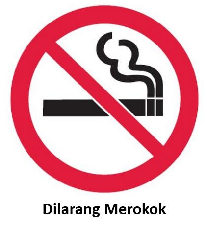 Rambu K3 Dilarang Merokok