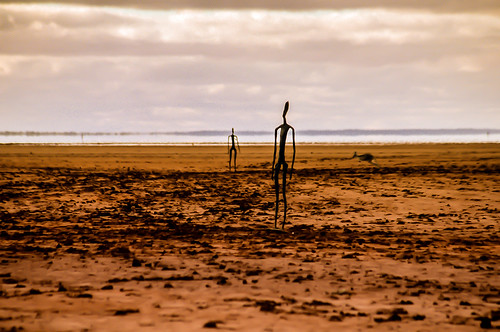 Antony Gormley SculpturesOn Lake Ballard, 200km north of Kalgoorlie in Western Australia