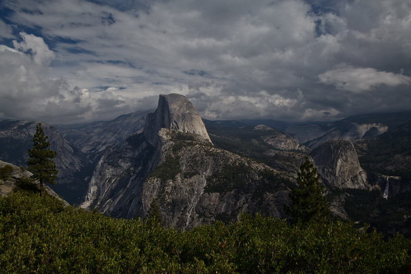 Half Dome Mountain in the famous Yosemite NP photo © 2010 Nick Katin