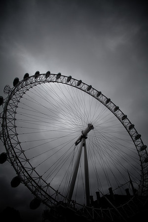 The London Eye On London's Southbank, England
