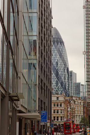 The Gherkin City of London, England