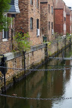 Shadwell Basin Near Katharine dock, East London, England © 2010 Nick Katin