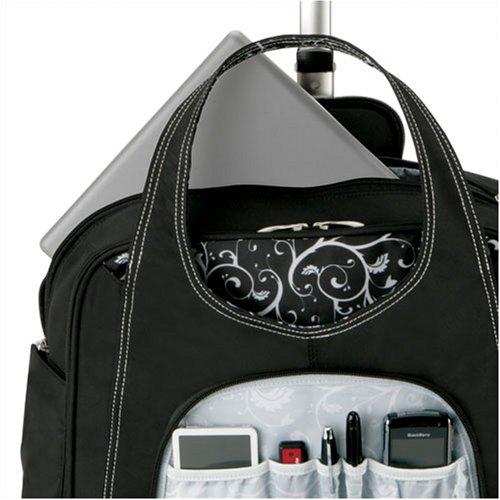 kensington rolling laptop case inside