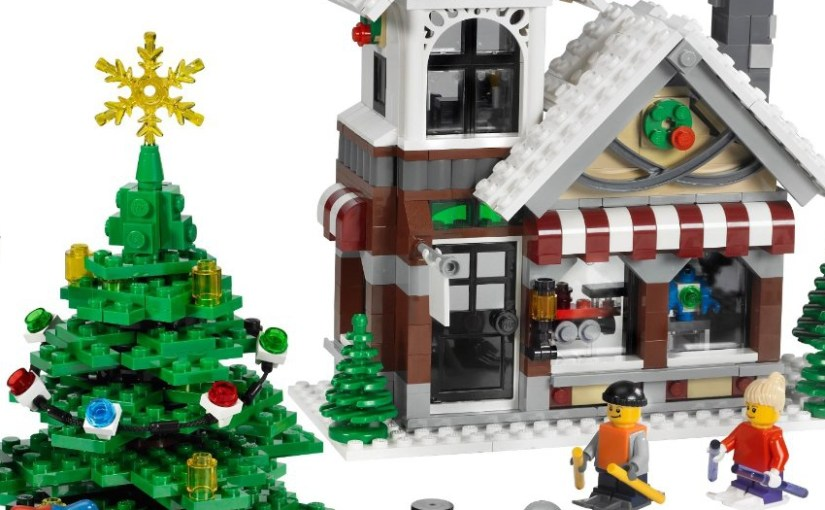 Christmas Lego Set 2018