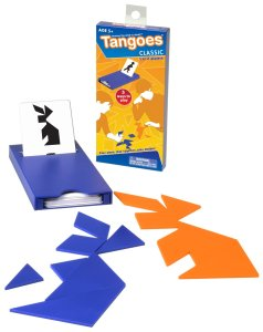 Tangoes: competitive tangram